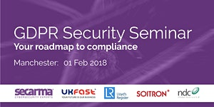GDPR Security Seminar: Roadmap to Compliance