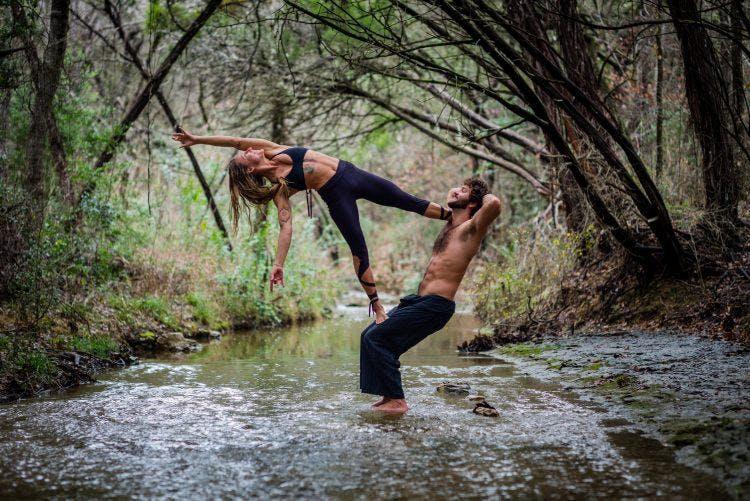 Acro-Yoga Level 2 Class with GypsyOn