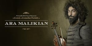 Ara Malikian en Zaragoza. The Incredible World Tour of...