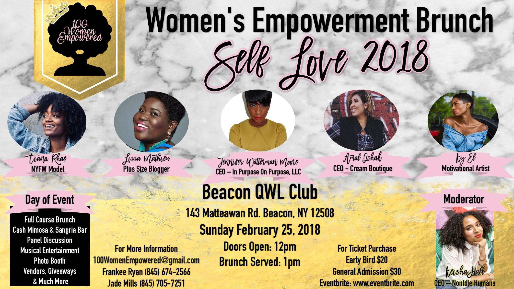 Womens Empowerment Brunch - Self Love