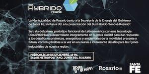 """Presentación BUS HYBRIDO """"Innova Rosario"""""""