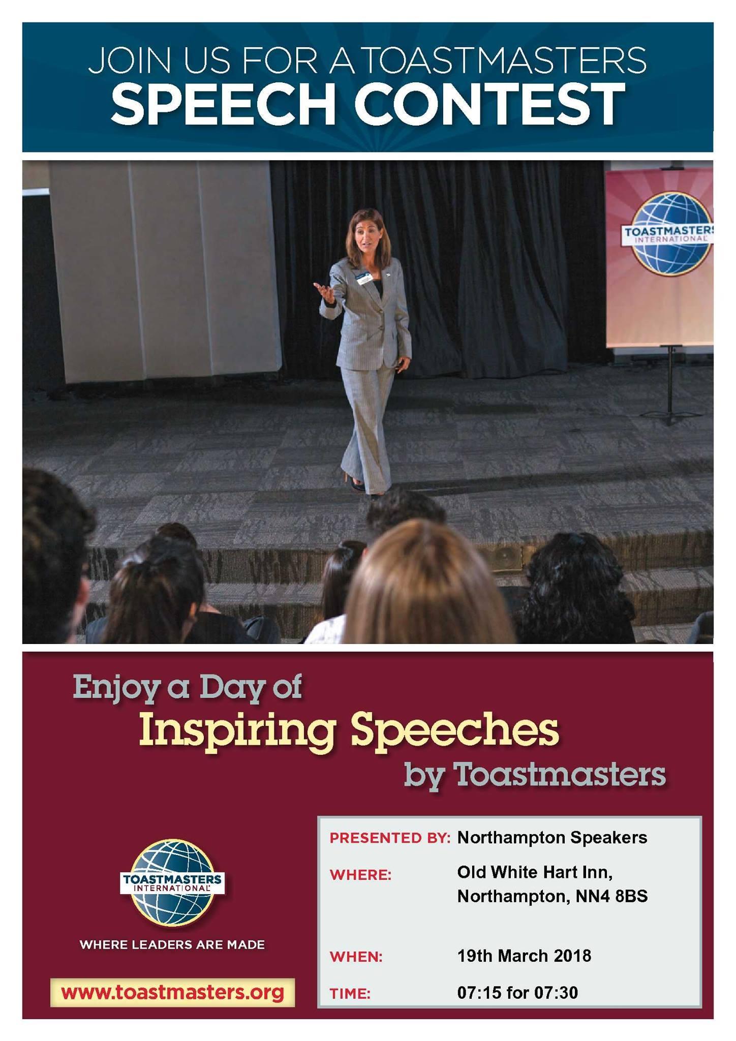Speech Contests @ Northampton Speakers