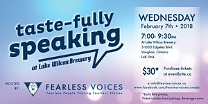 Tastefully Speaking - Fearless Voices Speaker Series -...
