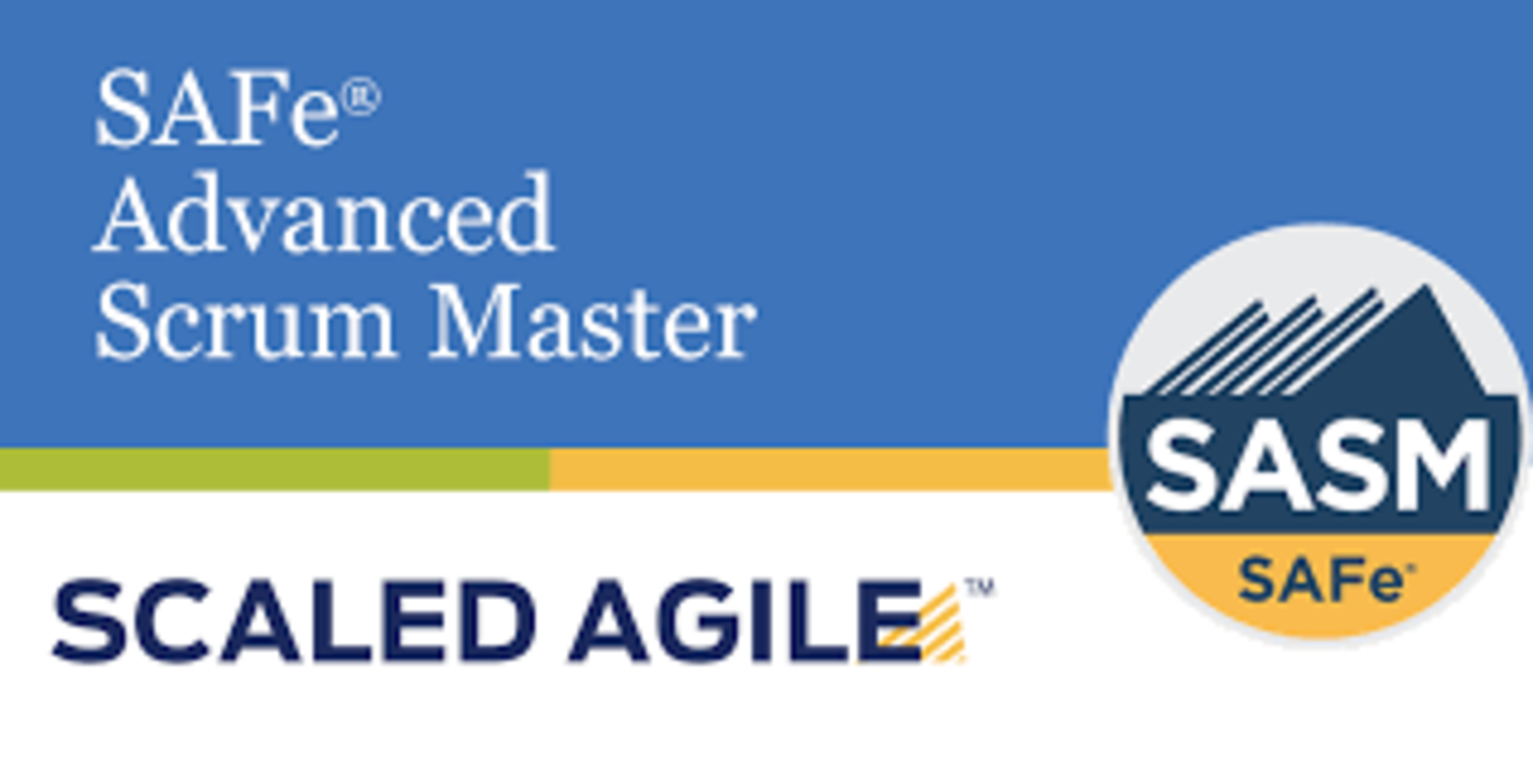SAFe® Advanced Scrum Master with Certificatio