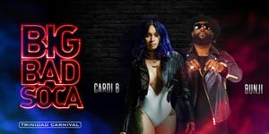CARDI B + BUNJI GARLIN & FRIENDS LIVE! TRINIDAD...