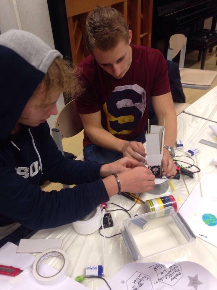 Mini-designathon in het Microlab
