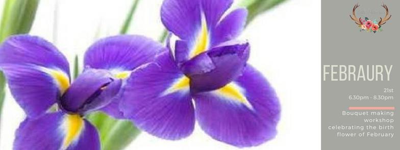 February Birth Month Bloom Bouquet Workshop