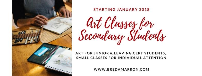 Art Tuition for Secondary School Students
