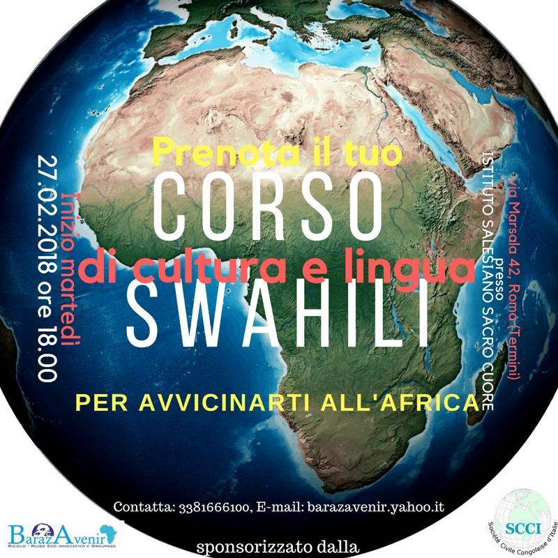 BARAZAVENIR: CORSO DI CULTURA E LINGUA SWAHILI