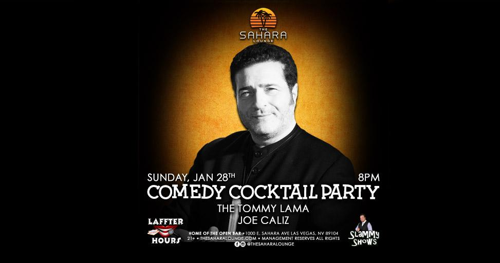 Comedy Cocktail Hour: The Tommy Lama