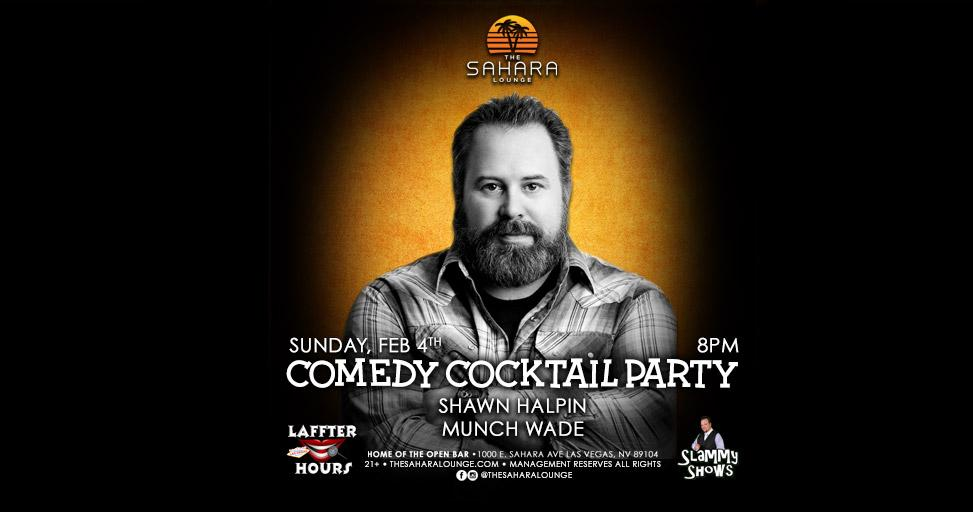 Comedy Cocktail Hour: Shawn Halpin