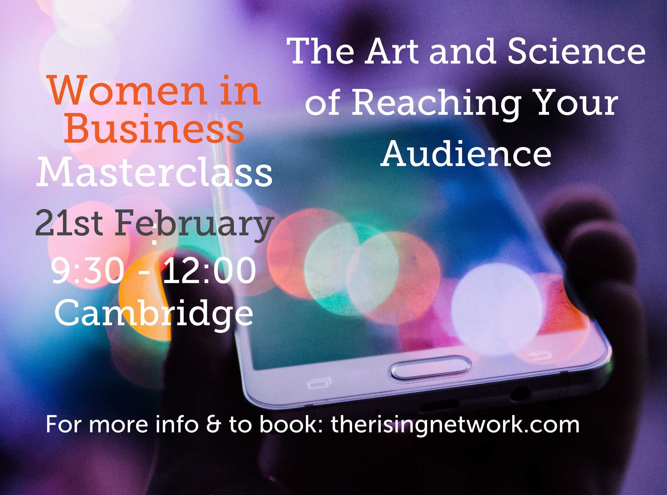 Women in Business Masterclass: The Art and Sc