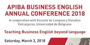 II APIBA Business English Annual Conference