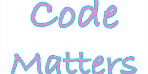 Code Matters