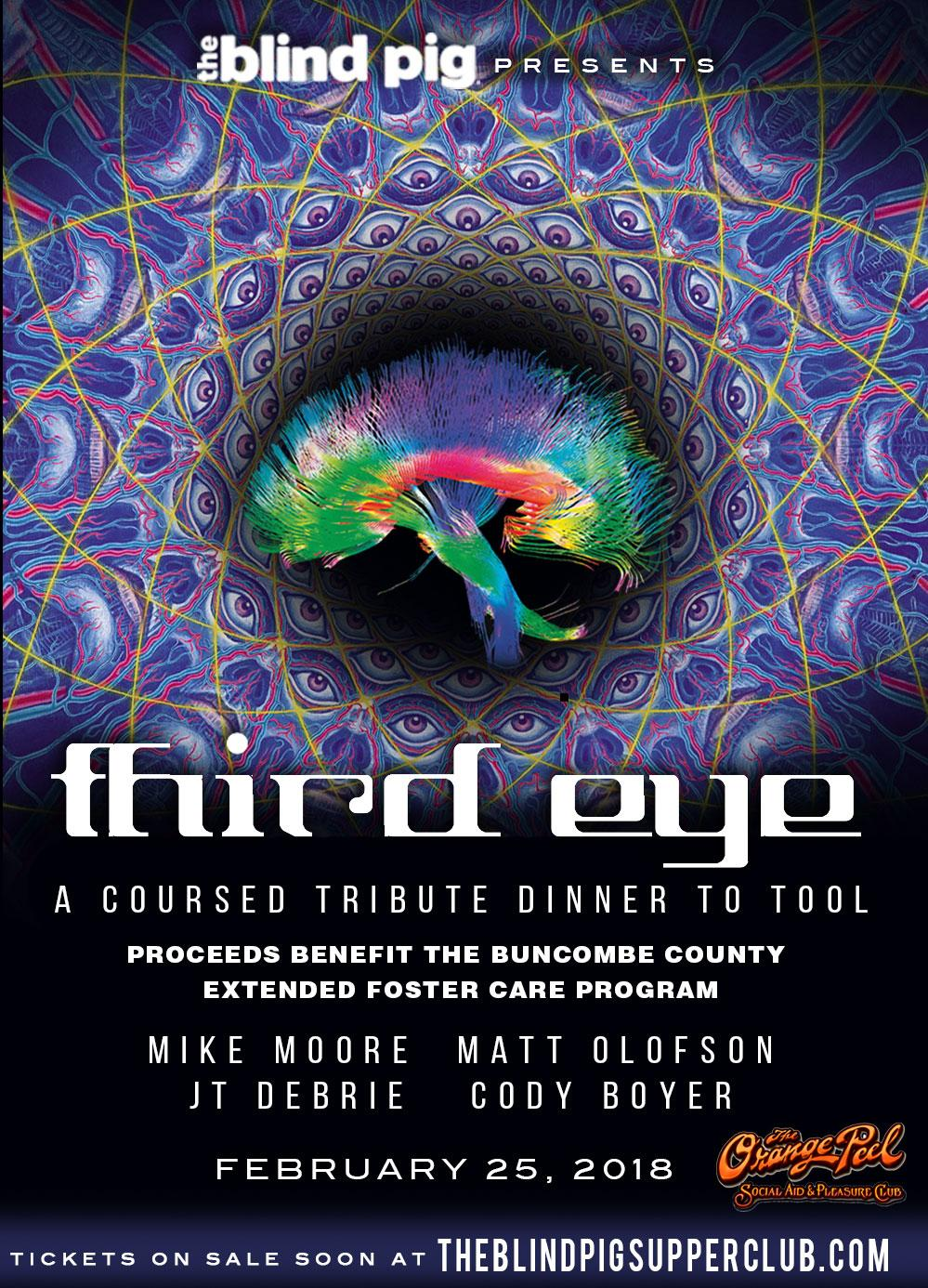 The Blind Pig presents: Third Eye- A pop up m