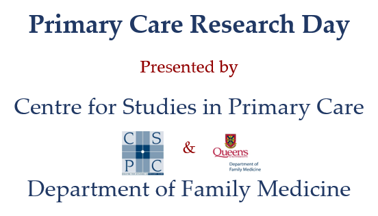 Primary Care Research Day 2018