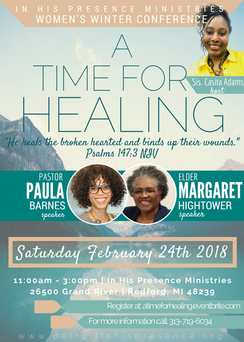 A Time For Healing Women's Conference