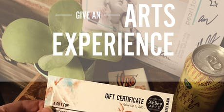 Arts Experience Gift Certificate - Concert Tickets tickets