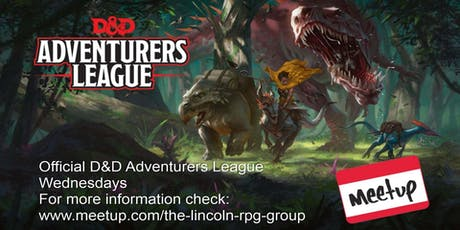 Dungeons and Dragons Adventurers League tickets
