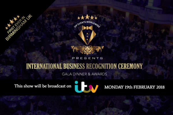 International Business Recognition Ceremony -