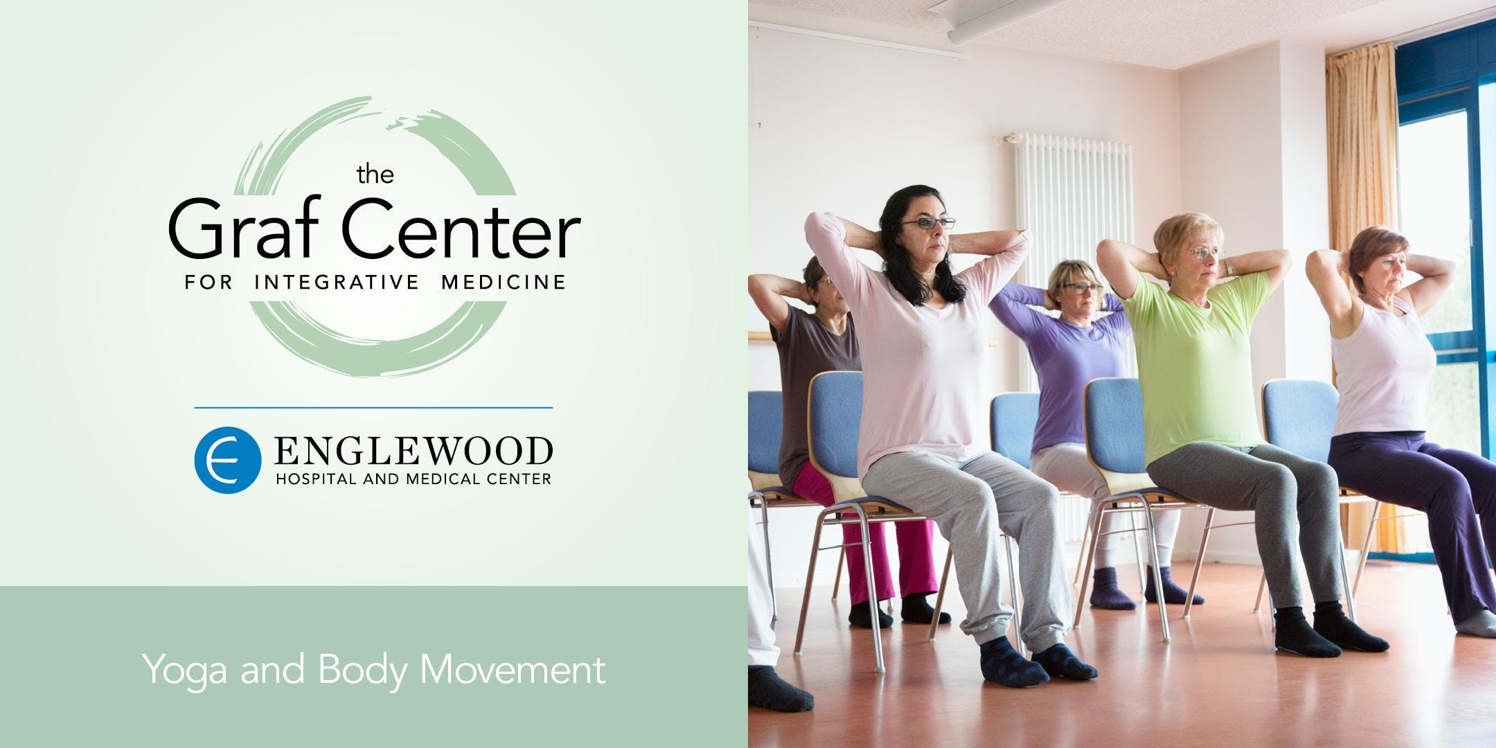 More info: Therapeutic Chair Yoga