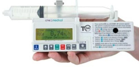 Use of McKinley T34 Syringe Driver in End of Life Care tickets