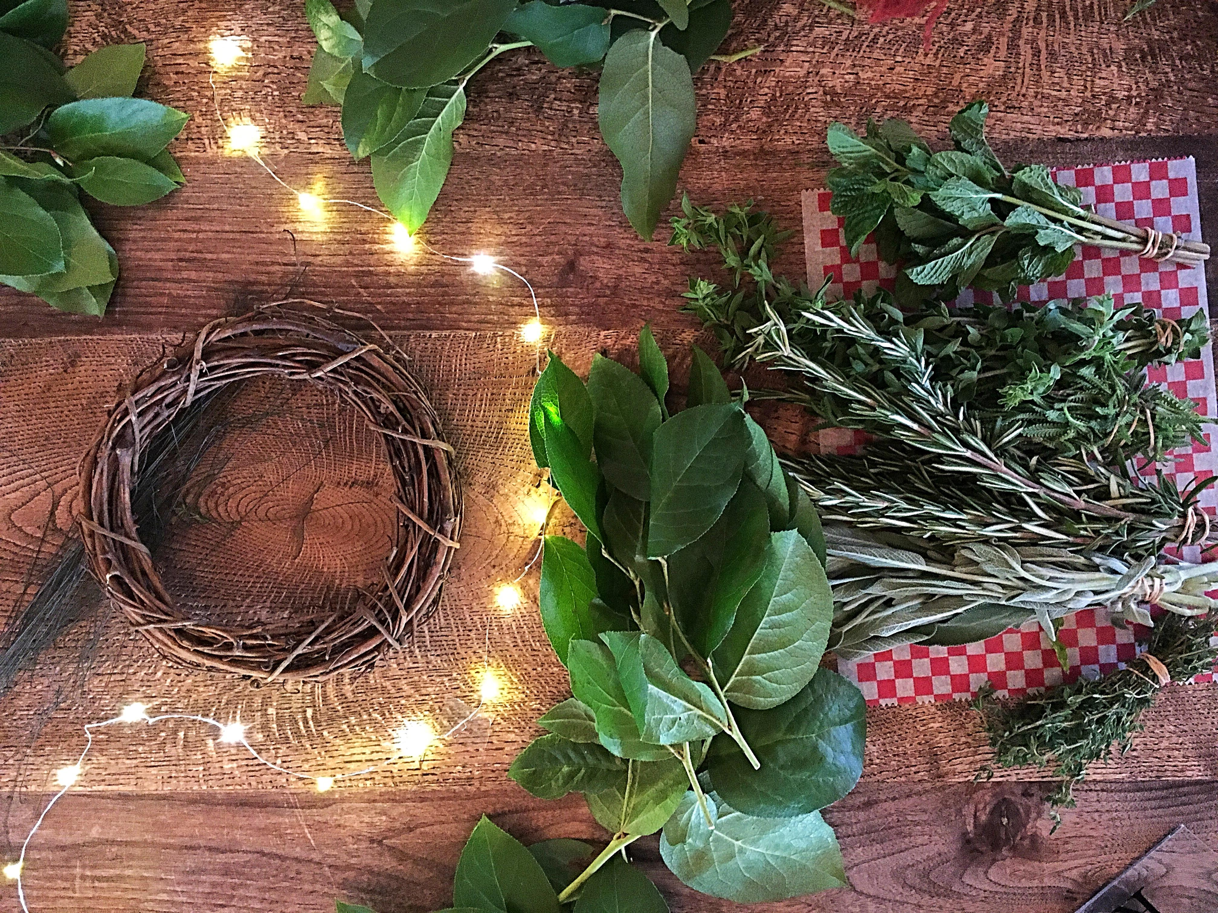 SOLD OUT: Culinary Wreath Workshop: Feb. 21st