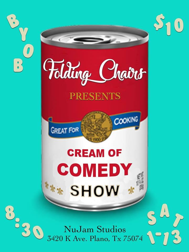 Folding Chairs Comedy Presents: Cream of Comedy Show