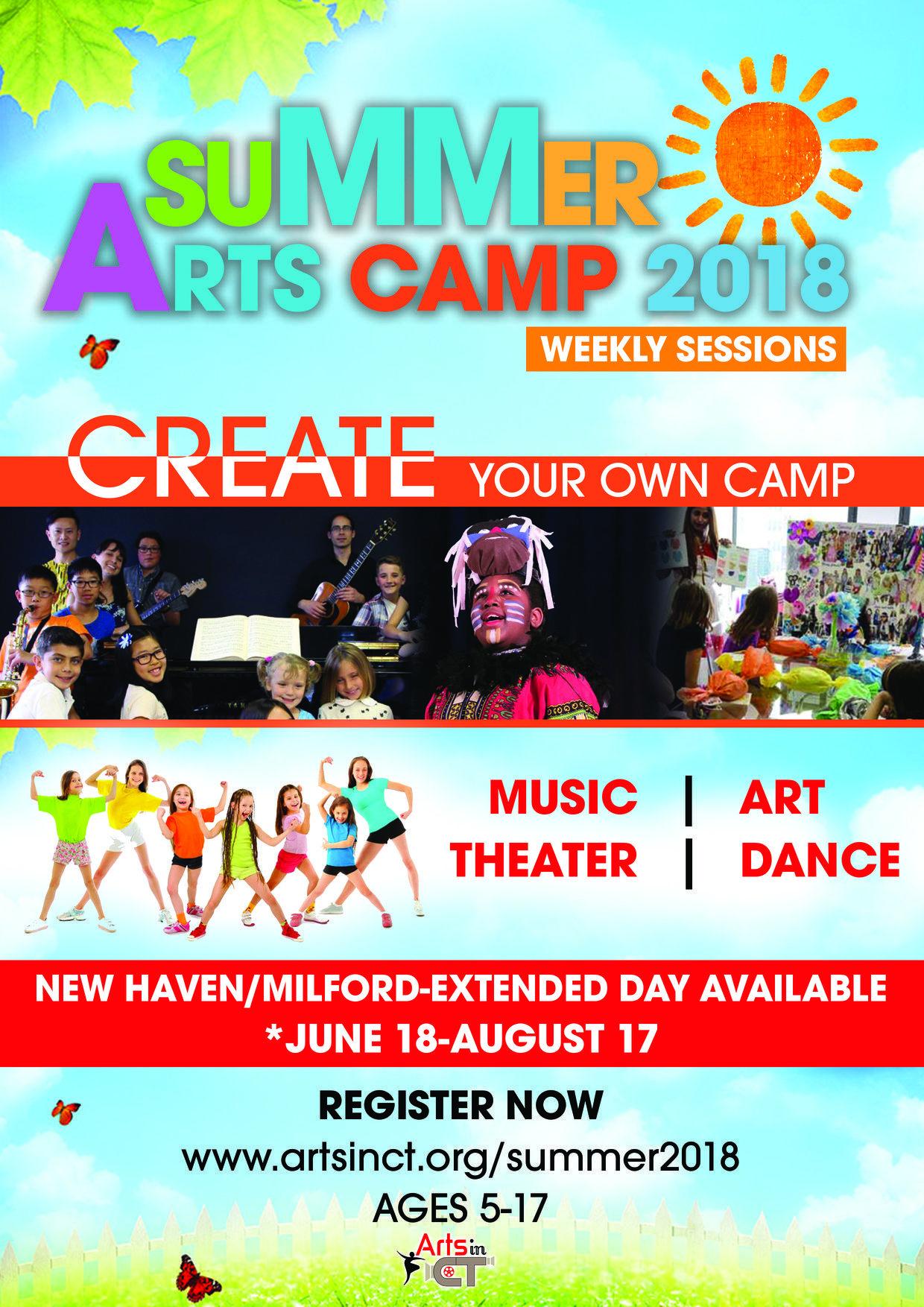 Summer Arts Camp 2018