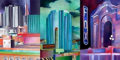 Art Exhibition: Abstract Metropolis by Patricia Araujo