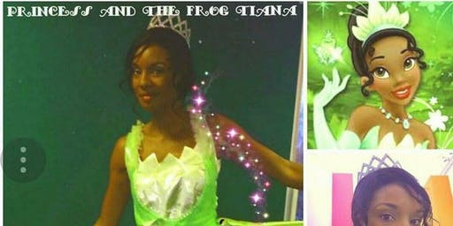 Mascot's for hire - The Frog Princess