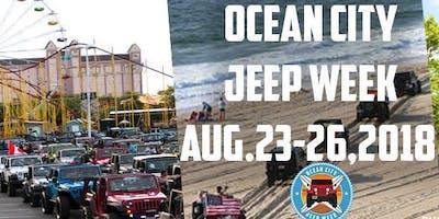 Ocean City Jeep Week >> 2018 Ocean City Jeep Week Ocean City August Thursday 23