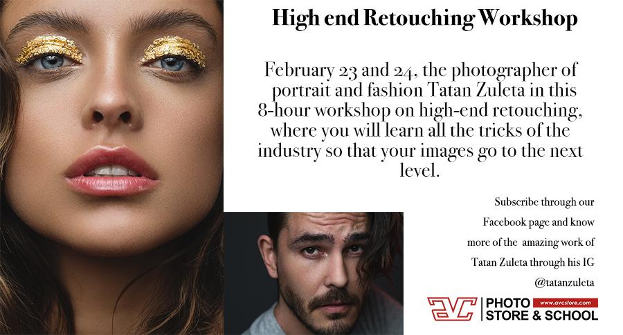 30% OFF High end Retouching Workshop with Tat
