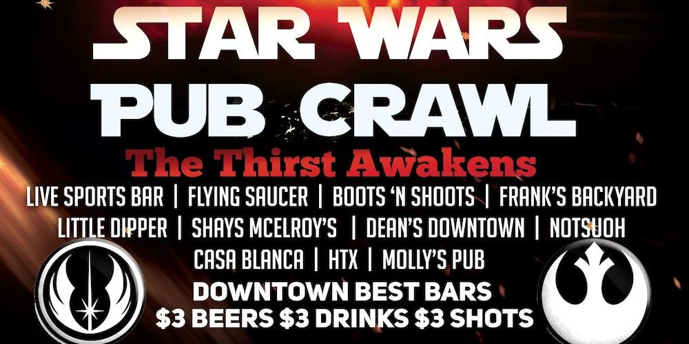 Star Wars Pub Crawl