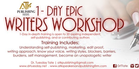 ATK Publishing Presents | Writers Workshop  tickets