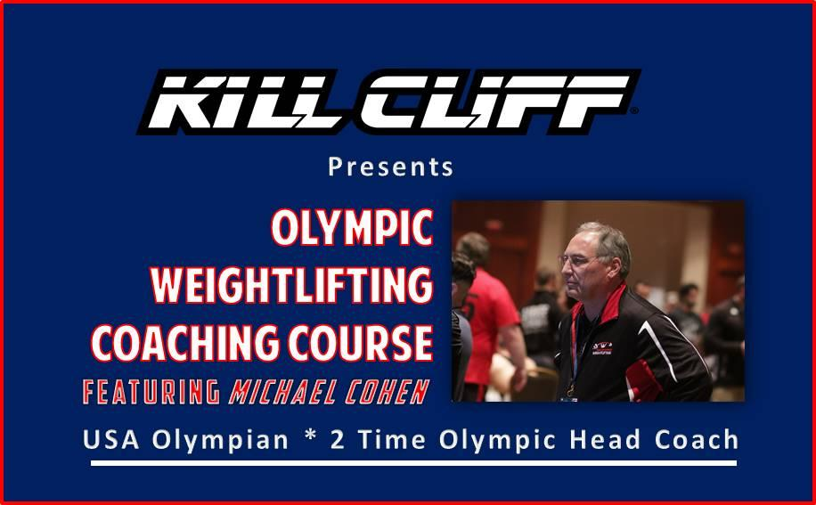 Kill Cliff Weightlifting Coach Certification 10 Feb 2018