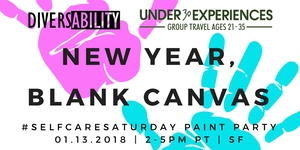 New Year, Blank Canvas: Self-Care Saturday Paint Party...