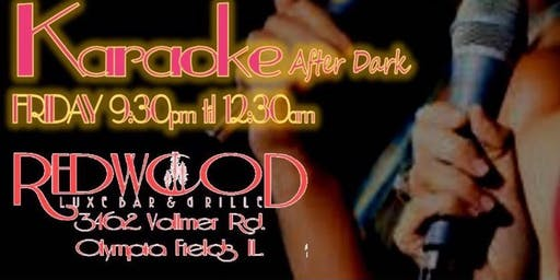Karaoke Fridays (Drink & Sing Karaoke after Dark)