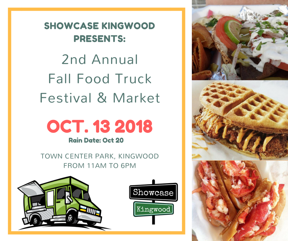 2nd Annual Fall Food Truck Festival 13 Oct 2018