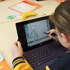 VIC DET Digital Learning and Microsoft Australia Education logo