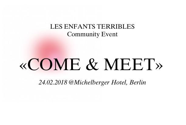 LES ENFANTS TERRIBLES Community Event