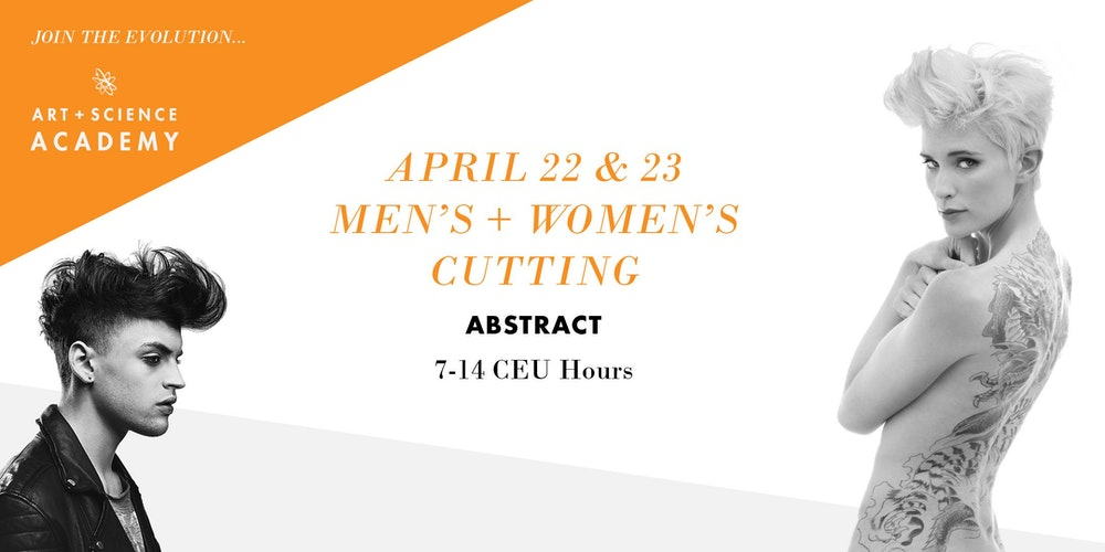 Los cut it one of a kind class tickets mon nov 27 2017 at 9 advanced ceu academy mens womens cutting abstract 7 14 ceu hours malvernweather Images