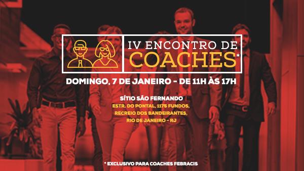 [RIO DE JANEIRO/RJ] VI Encontro de Coaches Febracis
