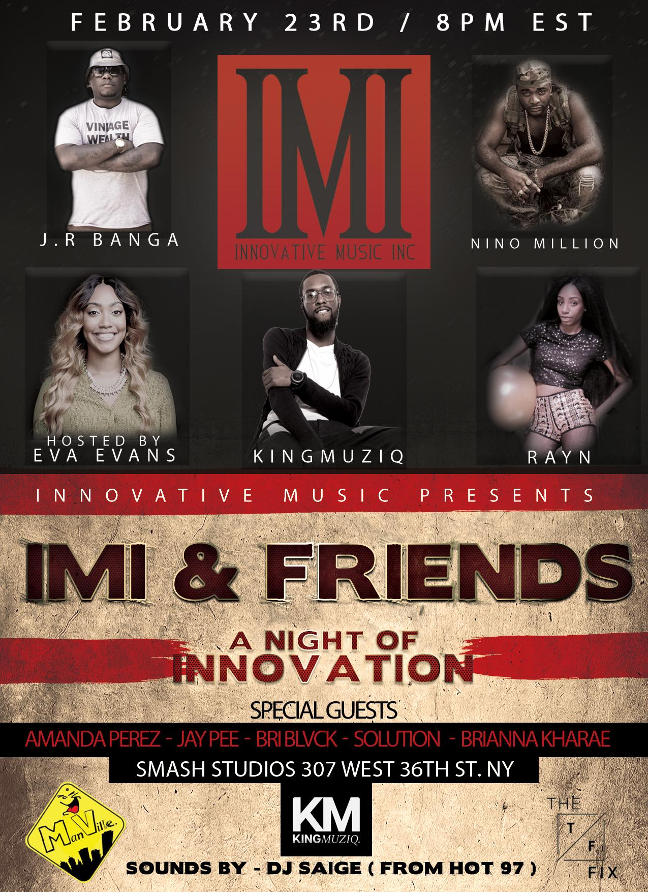 "IMI & Friends ""A Night Of Innovation"""
