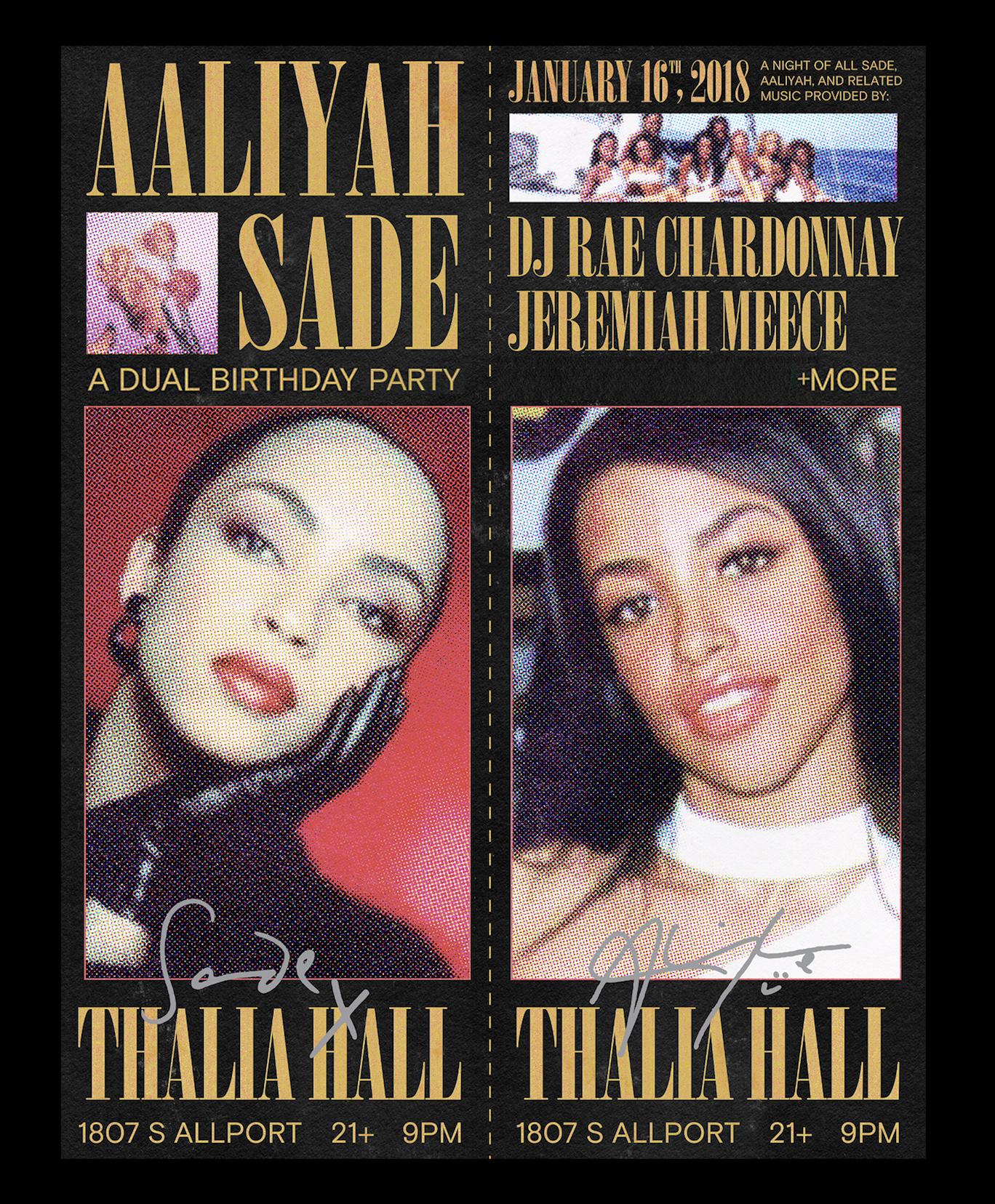 Aaliyah and Sade: A Birthday Party