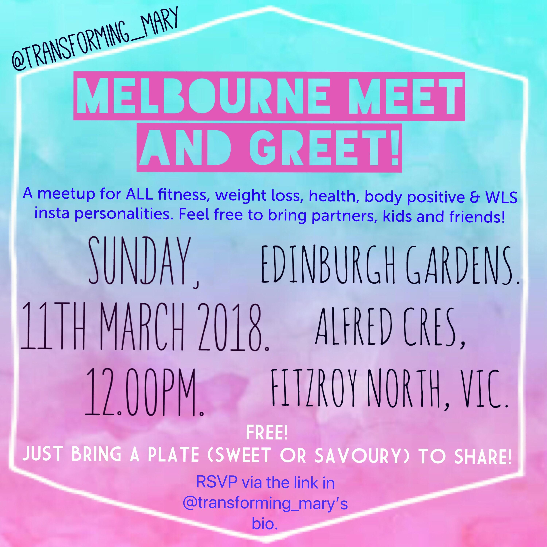 Melbourne Instagram Meet And Greet 11 Mar 2018