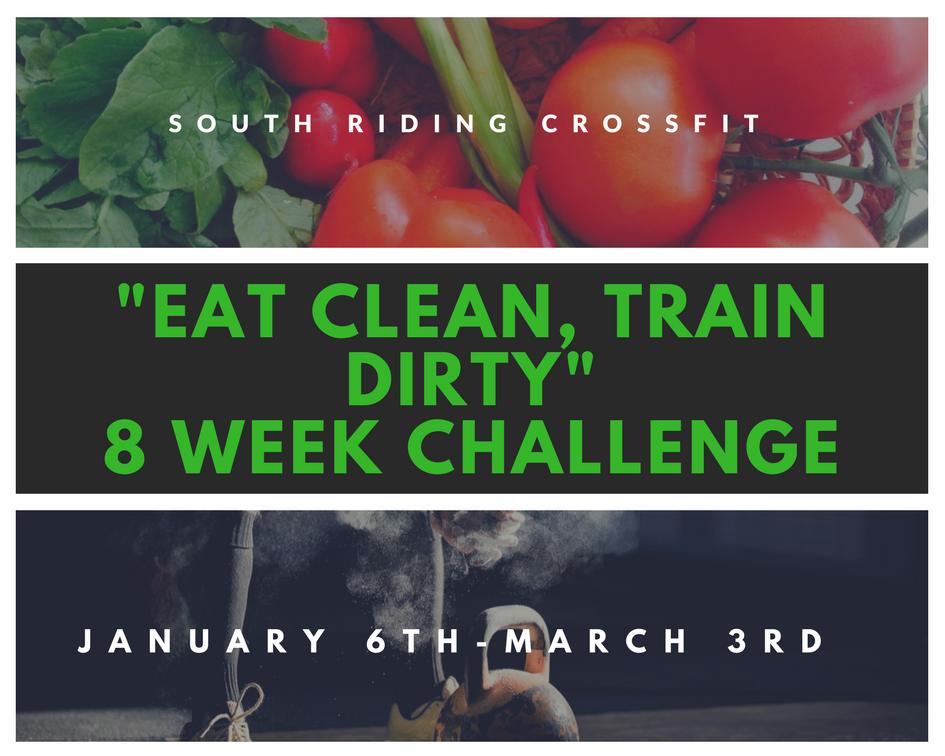 Eat Clean, Train Dirty 8-Week Challenge  photo
