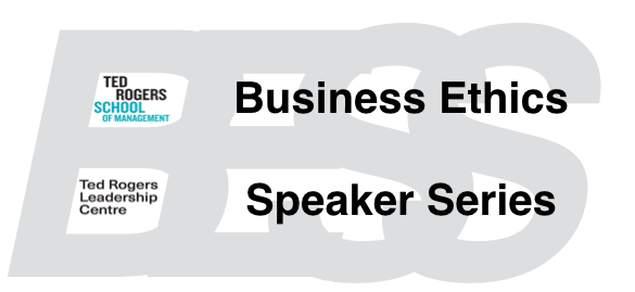 Business Ethics Speaker Series: Aaron Ancell