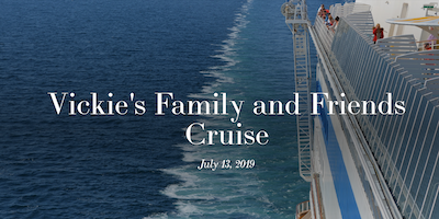 2019 Family and Friends Cruise (Payment)
