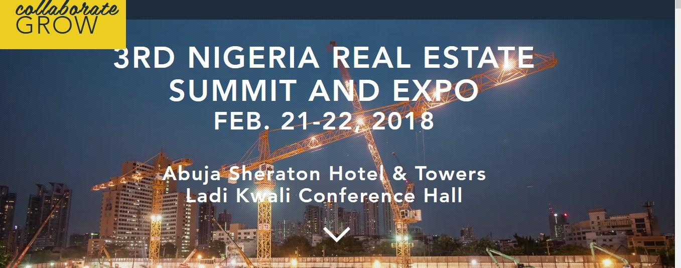 2018 Nigeria Real Estate Summit and Expo